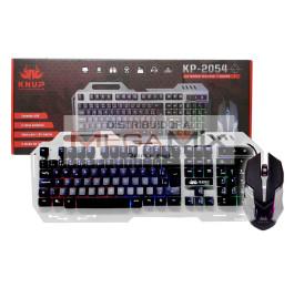 Kit Teclado Gamer + Mouse com fio KP-2054 - Knup