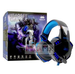 Fone de Ouvido Headset Gamer KP-455A - Knup