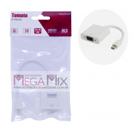 Cabo Adaptador Mini Displayport P/ Vga Mtv-606 -Tomate