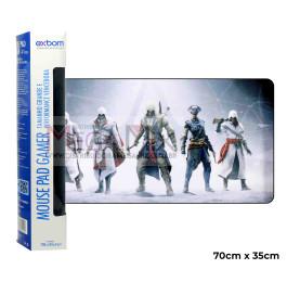 Mouse Pad Gamer 70x35cm (Família Assassina) 7035C-20 - Exbom