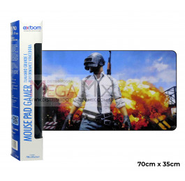 Mouse Pad Gamer 70x35cm (Pu Mission) 7035C-30 - Exbom