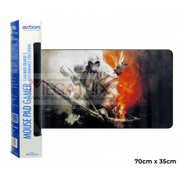 Mouse Pad Gamer 70x35cm (Assassin's Creed) 7035C-06 - Exbom
