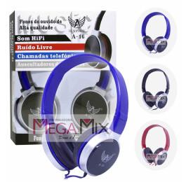 Fone de Ouvido c/Microfone A-16 - Altomex