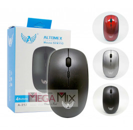 Mouse sem fio 2.4GHz A-312 - Altomex