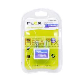 Pilha AAA Recarregável c/2 1100mAh FX-AAA11B2 - Flex