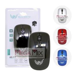 Mouse Óptico sem Fio 1600 Dpi  AG-815 - Altomex