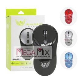 Mouse Óptico sem Fio 1600 Dpi  AG-822 - Altomex