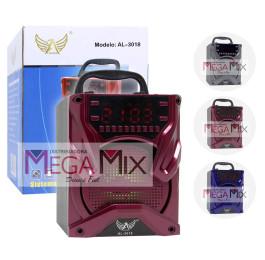 Caixa de Som Bluetooth 8W AL-3018 - Altomex