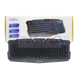 Teclado Gamer USB com LED BM-T03 - Bmax