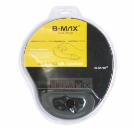 Mouse Pad c/Apoio em Gel Confort 22x26cm BM751 - B-max