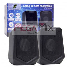 Caixa de Som para PC/Notebook XC-CM-05 - X-Cell