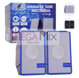 Caixa de Som para PC/Notebook XC-CM-07 - X-Cell