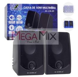 Caixa de Som para PC/Notebook XC-CM-09 - X-Cell