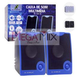 Caixa de Som para PC/Notebook XC-CM-10 - X-Cell