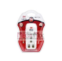 Carregador de Pilhas AA/AAA/9V MO-CP30 - Mox