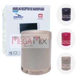 Caixa de Som Bluetooth 5W D-Q3 - Grasep
