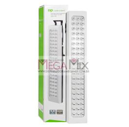 Luminária de Emergência Recarregável 60 LEDS DP-720 - DP