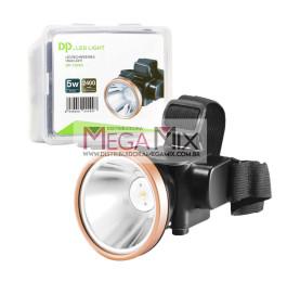 Lanterna Recarregável de Cabeça 5W DP-7224A - DP Led