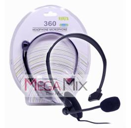 Fone de Ouvido Headset para Xbox 360 KA-XB3027