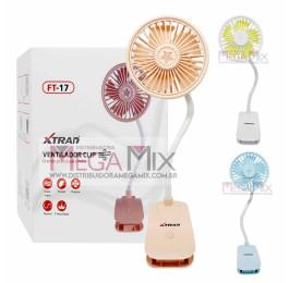 Mini Ventilador Clip FT-17 - Xtrad