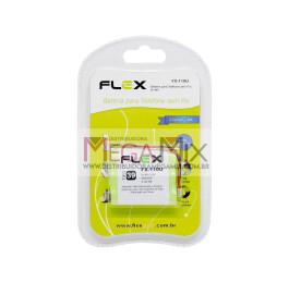 Bateria para Telefone Sem Fio 3.6V 600mAh FX-110U - Flex
