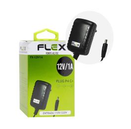 Fonte de Alimentação  Plugs P4  2A/12V FX-12V/1A - Flex