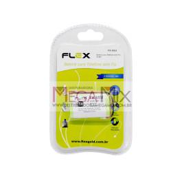 Bateria para Telefone Sem Fio 2.4V 600mAh FX-65U - Flex