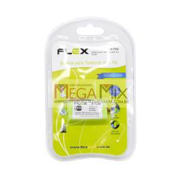 Bateria para Telefone Sem Fio 2.4V 600mAh FX-70U - Flex