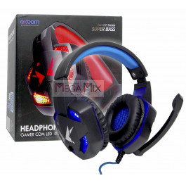 Fone de Ouvido Headphone Gamer com LED HF-G600 - Exbom