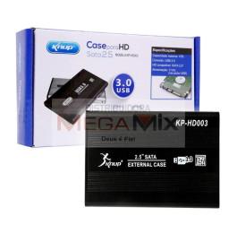 Case para HD Sata 2.5'' USB 3.0 Externo KP-HD003 - Knup