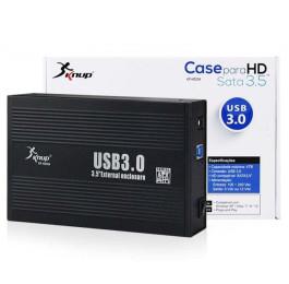 Case para HD Sata 3.5'' USB 3.0 Externo KP-HD004 - Knup