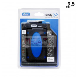 Suporte Caddy 9.5mm para case HD/SSD 2.5´ KP-HD021 - Knup