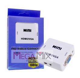 Conversor HDMI para VGA 1080P - HDMI2VGA 2831