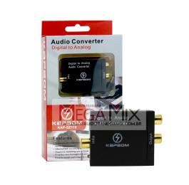Conversor Óptico Digital para Analogico KAP-SZ115 - Kapbom