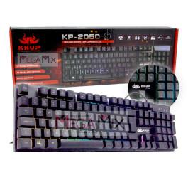 Teclado Semi-Mecânico Gamer com Anti-Ghosting  KP-2050 - Knup
