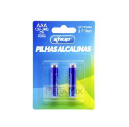 Pilha Alcalina AAA c/2 KP-2900AAA - Knup