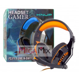 Fone de Ouvido Gamer PC/P4/X-one/Switch KP-491 - Knup