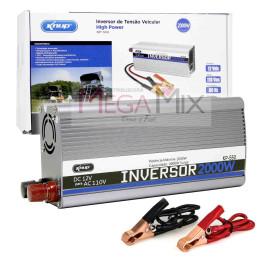 Inversor de Potência 2000W - 110V - 12V DC KP-550 - Knup