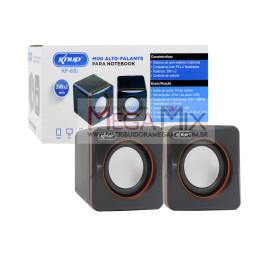 Mini Caixa de Som para PC/Notebook KP-600 - Knup