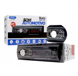 Som Automotivo com Bluetooth Dual USB KP-C33BH - Knup