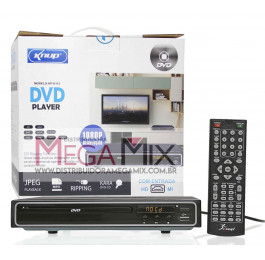 DVD Player com entrada HDMI KP-D112 - Knup