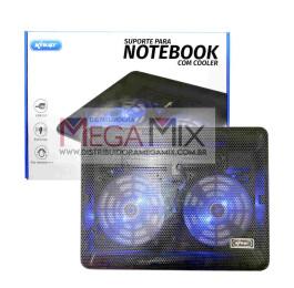 Base Cooler com Suporte para Notebook até 17'' KP-SP222 - Knup