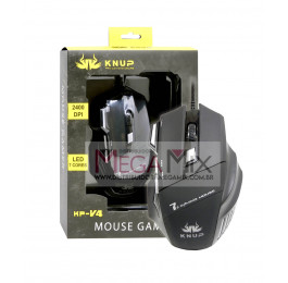 Mouse Gamer com fio USB KP-V4 - Knup