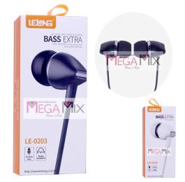 Fone de Ouvido com Microfone LE-0203 - Lelong
