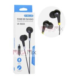 Fone de Ouvido c/Microfone LE-0223 - It-Blue