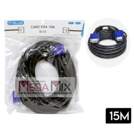 Cabo VGA para Monitor 15M LE-13 - It-Blue