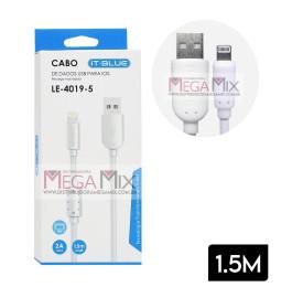Cabo de Dados Iphone 1.5m LE-4019-5 - It-Blue