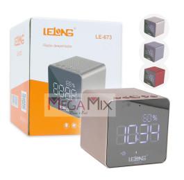 Rádio Despertador c/Visor Digital LE-673 - Lelong