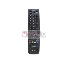 Controle Remoto para TV LG LE-7414 - Lelong