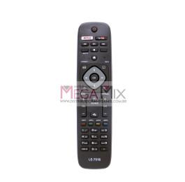 Controle Remoto para TV LED/Smart Philips LE-7516 - Lelong